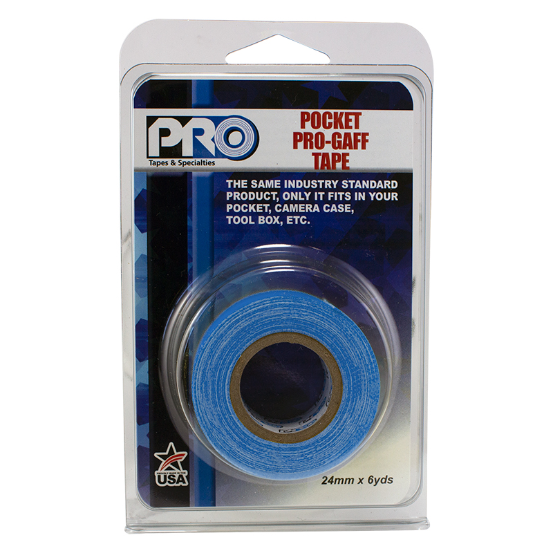 Pro® Pocket Gaff Retail Pack Standard Colors tape