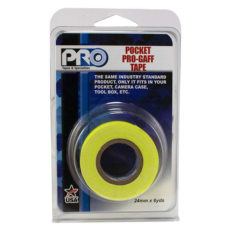 Pro® Pocket Gaff Retail Pack Fluorescent Colors tape
