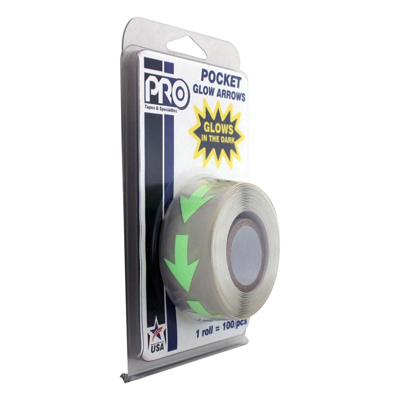 Pro® Pocket Glow Arrows Tape tape