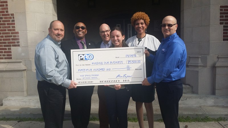 Pro Tapes® Announces Second Annual Sponsorship of the M.O.B Program for At-Risk Youth in Trenton