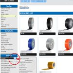 ProTapes product explorer - choose the right tape
