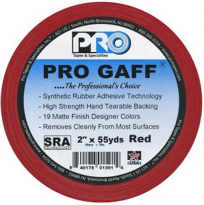 Pro Gaff uses our proprietary SRA Technology - Synthetic Rubber Adhesive