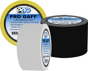 Synthetic Rubber Adhesive is what makes Pro Gaff the top-selling gaffers tape