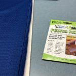 Pro® UGlu Power Patches a pH neutral, non-yellowing acrylic double face tape safe for use on fabrics.
