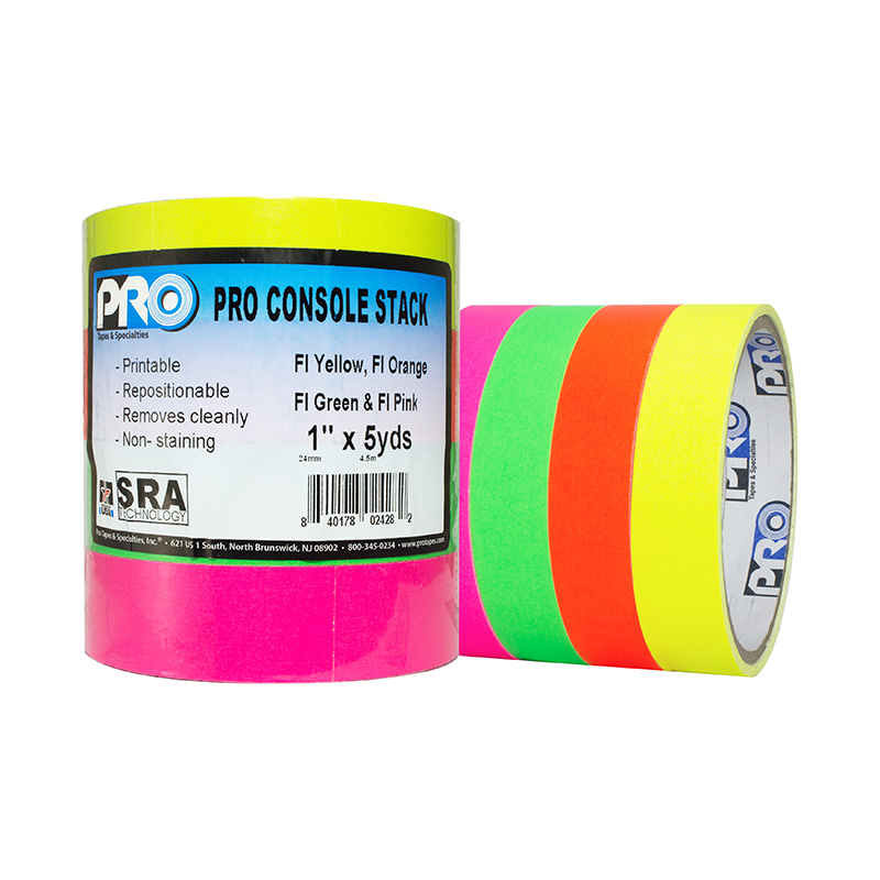 Pro® Console Stacks tape