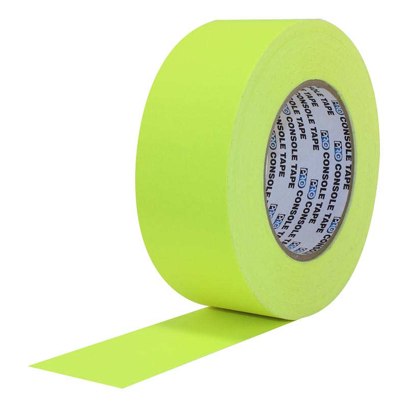 Pro® Console Tape Fluorescent Colors tape