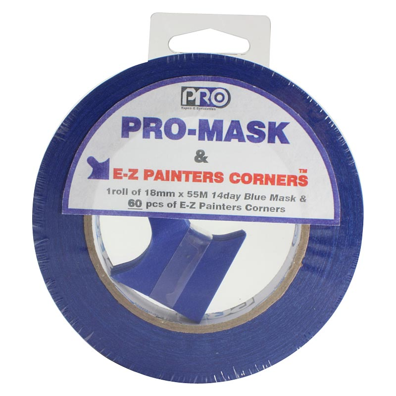 Pro® Mask & EZ Painters Corners tape
