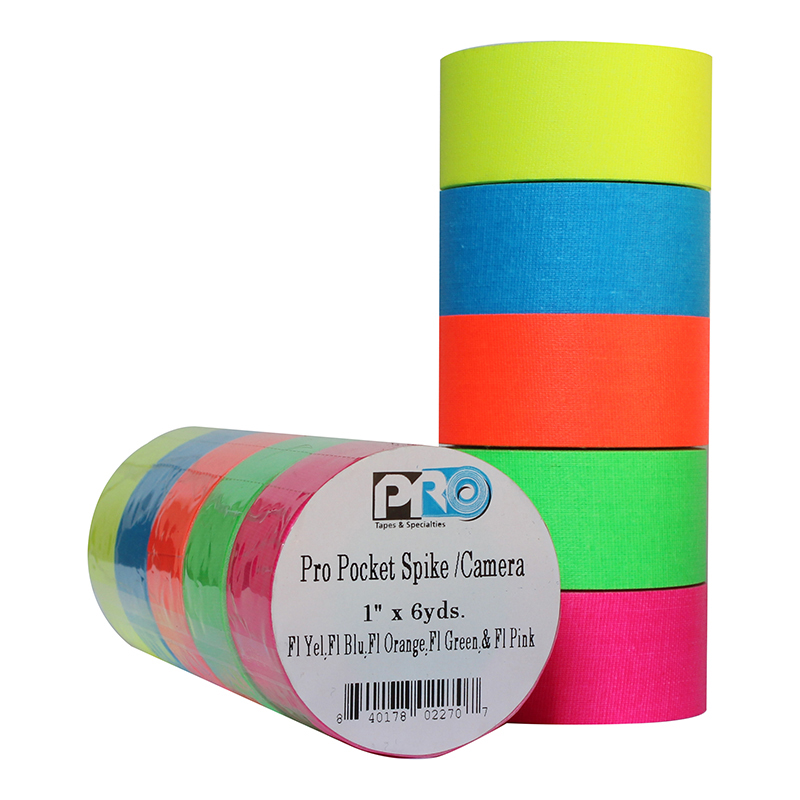 Pro® Pocket Camera Spike Stack Fluorescent Colors tape