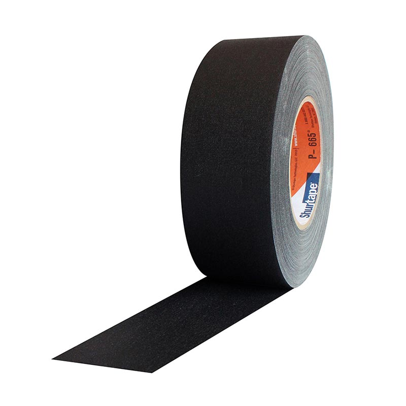 Shurtape P665W Water Resistant Gaffers Tape tape