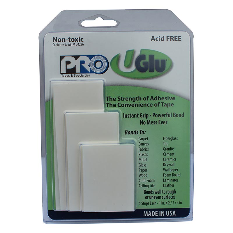 UGlu® 200 Strips Family Pack tape