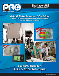 ProTapes Arts & Entertainment Brochure