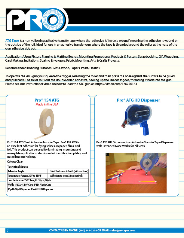 Pro Tapes & Specialties > our tape