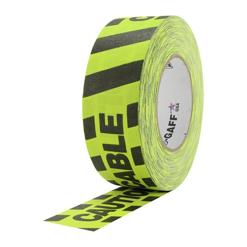 Adhesive Tape - Caution Cable