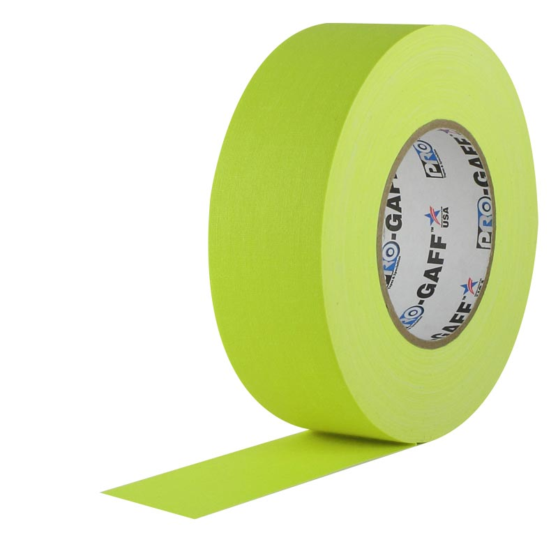 Adhesive Tape - Pro Gaff Fluorescent Colors