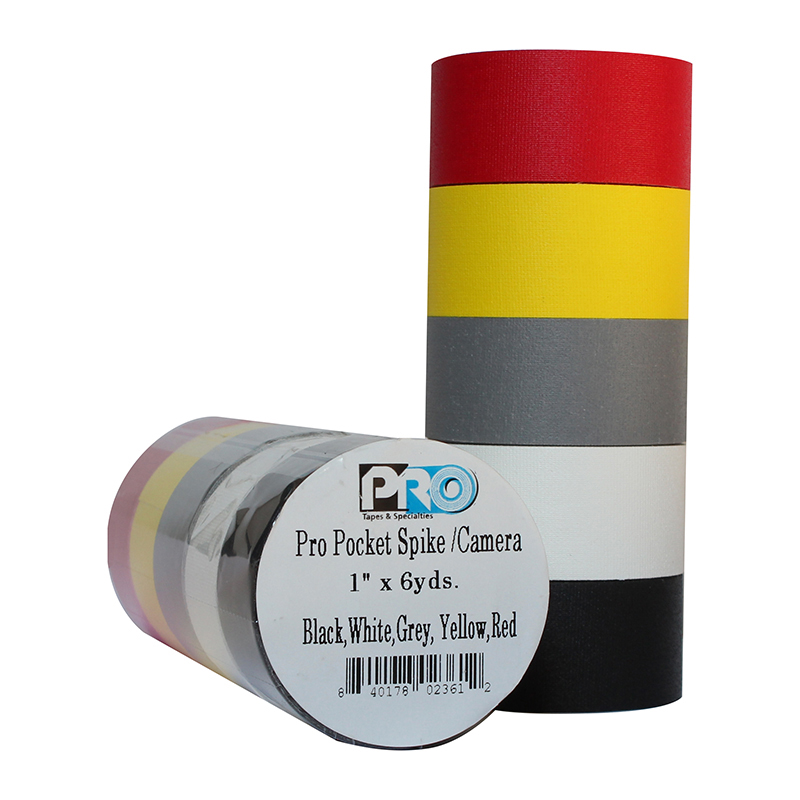 Adhesive Tape - Pro Pocket Camera Spike Stack Standard Colors