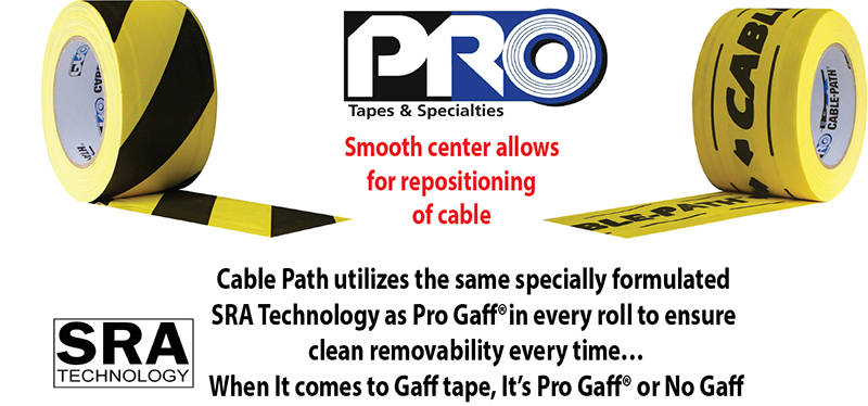 Pro Gaff isn't our only product with SRA Technology. The same superior Synthetic Rubber Adhesive is used in our Cable Path product..