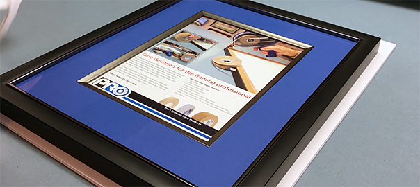 framing-with-fillet-lining-the-inside-mat-opening