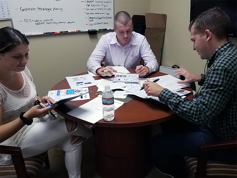 At Pro Tapes® there are daily meetings & exchanges that help to eliminate miscommunication within the process