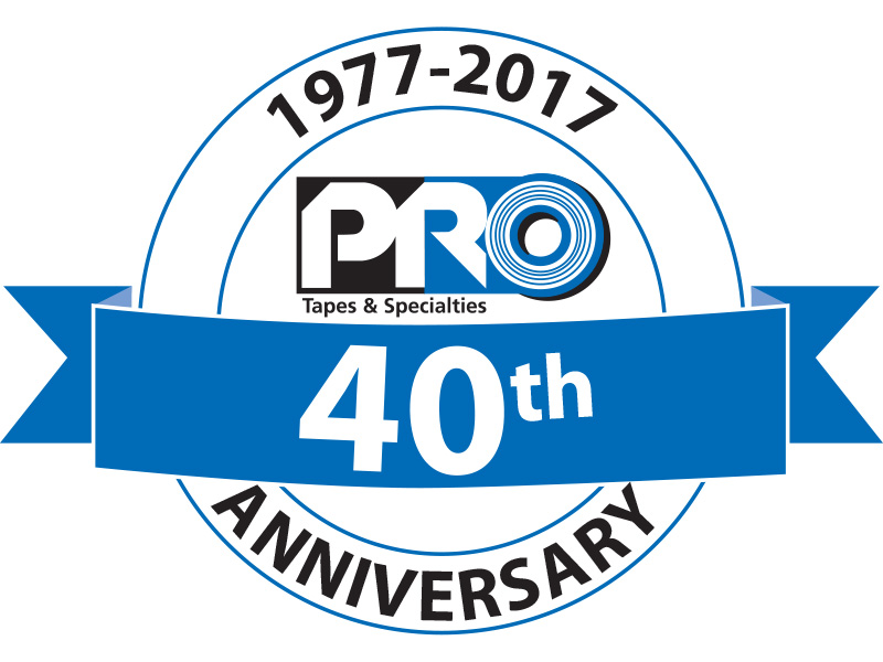 Pro Tapes® celebrated its 40th anniversary in 2017