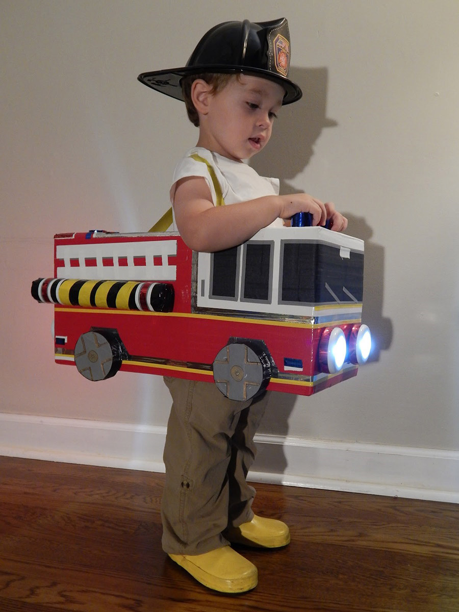 My son really got a kick out of the functioning head and brake lights!