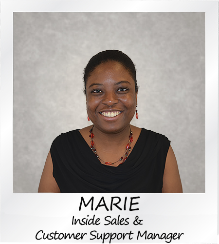 Marie - Inside Sales & Customer Support Manager