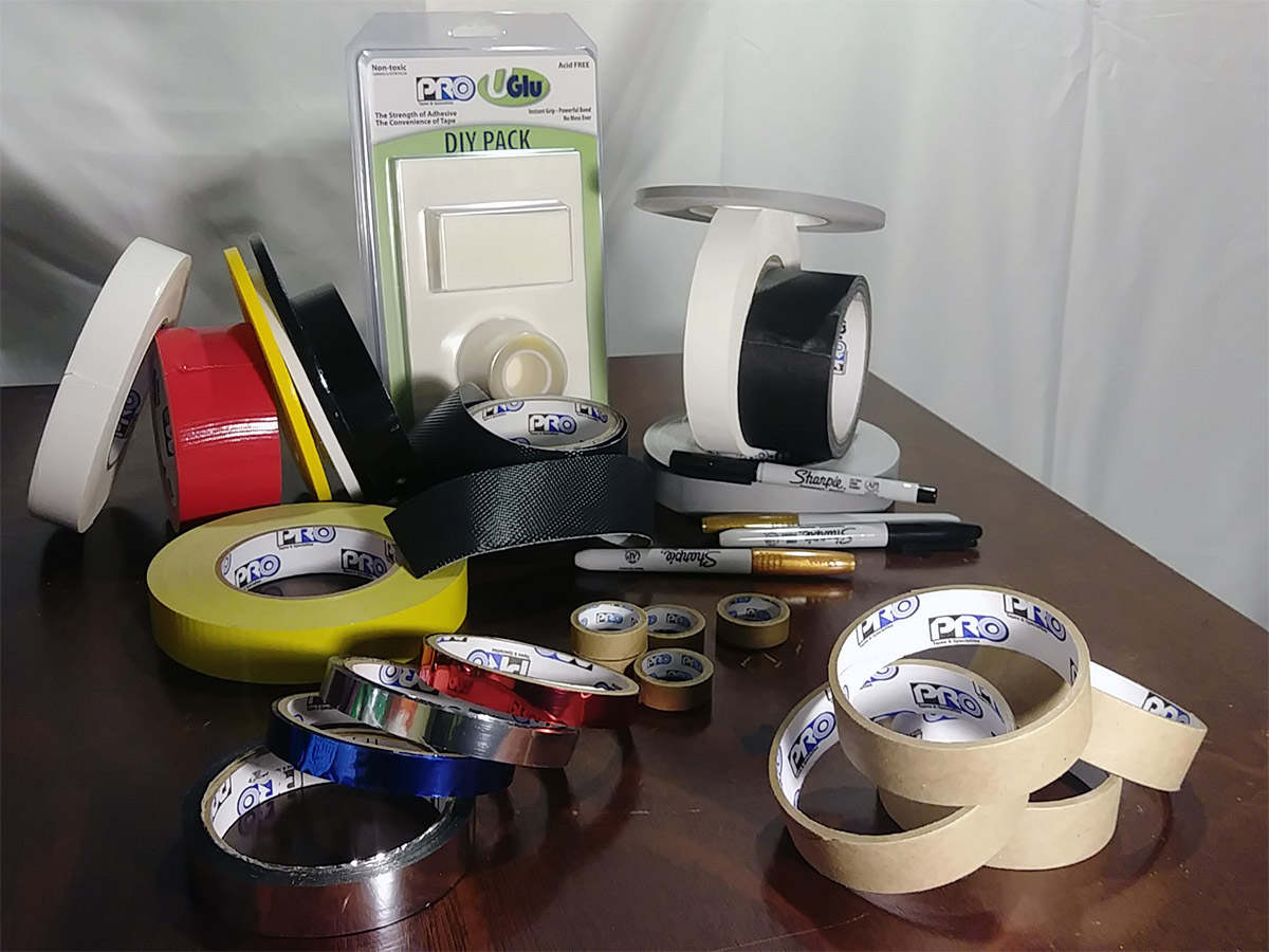 Pro Tapes® products used to make the DIY Fire truck costume