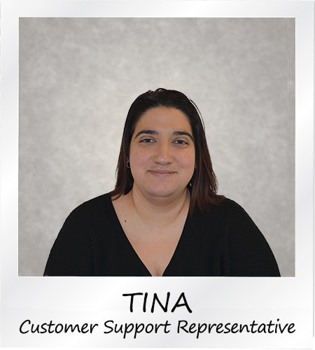 Tina - Customer Support Representative