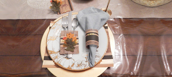 How To Upgrade Your Thanksgiving Table Setting With a Little Love, Fun and Pro Tapes®!