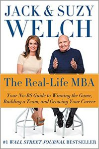 """The Real-Life MBA"" by Jack & Suzy Welch"
