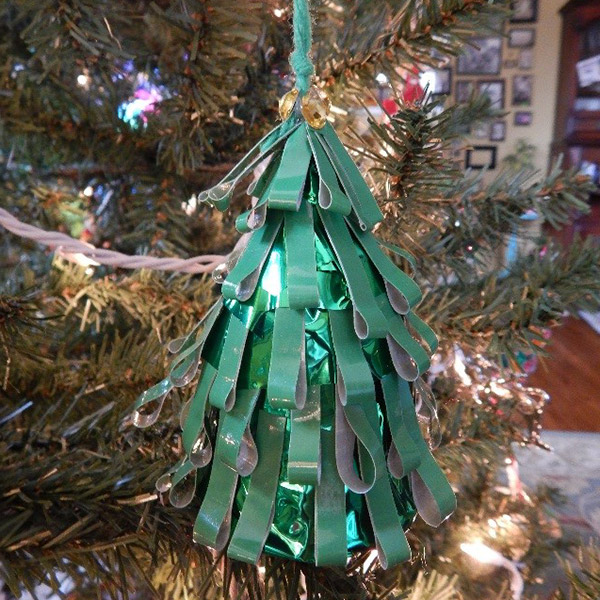Christmas tree: These were a little more time consuming, yet just as easy and fun to make.