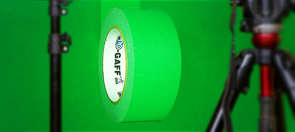 Pro Gaff Chroma Green for film and green screens
