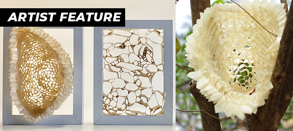 Artist Paula Reynaldi Creates Intricate Natural Sculptures with Pro® 796 pH Neutral Masking Tape