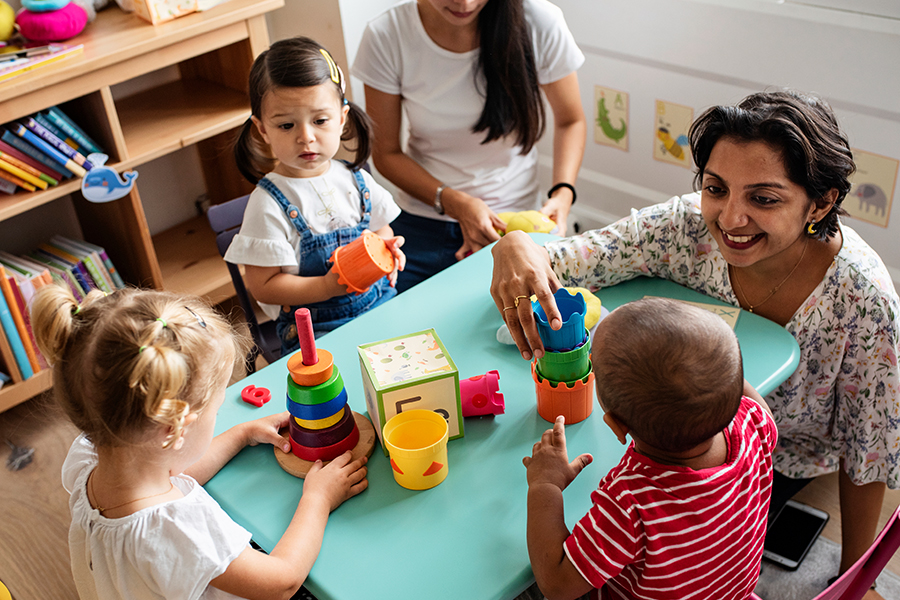Let's find out how tape can help young children develop their gross motor skills and fine motor skills in the pre-k classroom