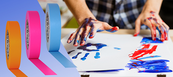 Tape as a tool for art therapy