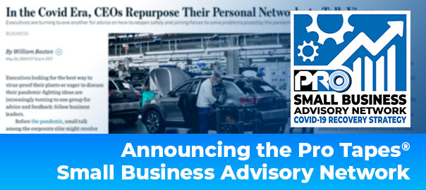 covid recovery protapes small business network