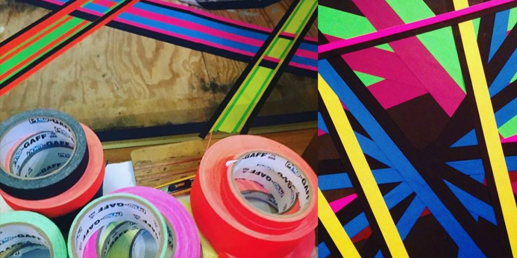 Kuki Gomez uses Pro Gaff® tape in most of his work