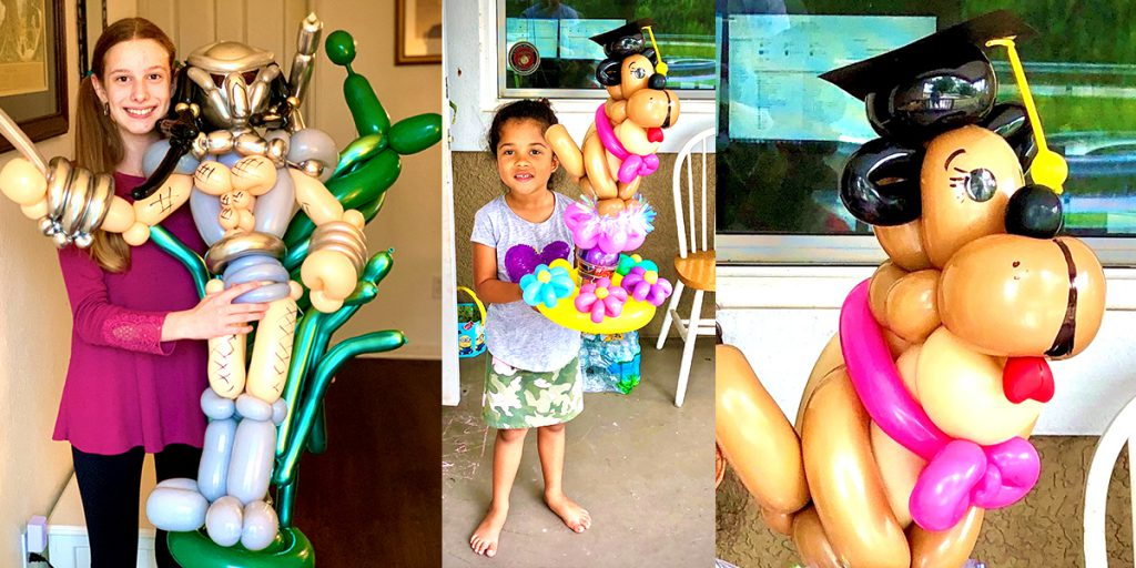 UGlu lets you create all kinds of balloon art and balloon characters!