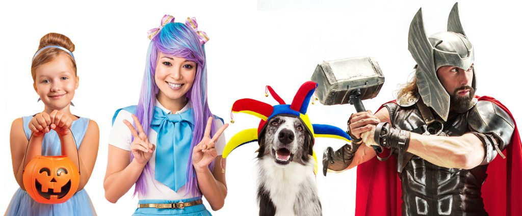 Costume tapes for Halloween, kids costumes, cosplay, historical re-enactment, clowns and more!