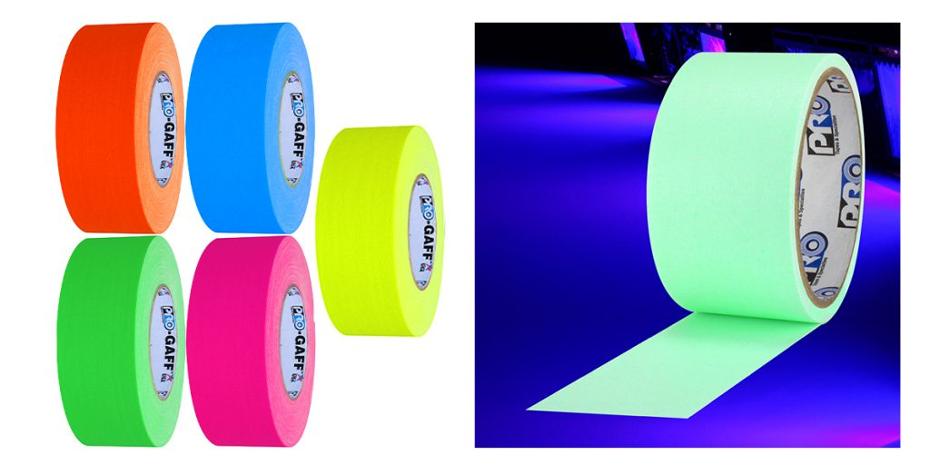 Pro Gaff fluorescent colors and Pro Glow Gaff