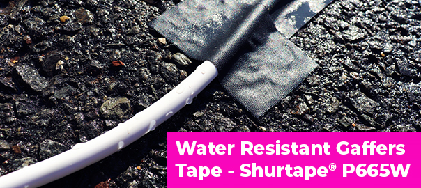 Searching for a Professional Grade, Water Resistant Gaffers Tape? Shurtape P665W is the Solution!