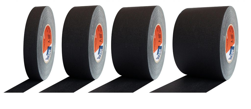 Shurtape P665W comes in many size widths
