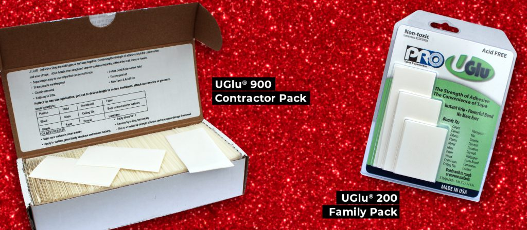 The UGlu 900 contractor pack and the UGlu 200 family pack
