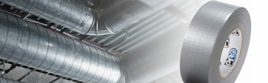 The construction industry began using duct tape to patch ventilation ducts