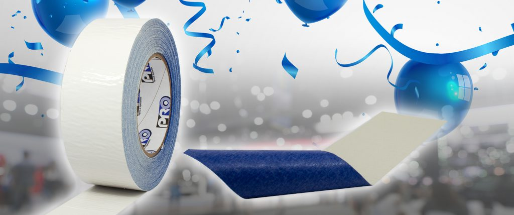 Pro Carpet Safe Tape is perfect for setting up temporary dance floors or stage floors