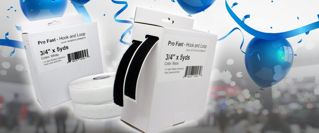 Pro Fast is a versatile fastening solution that is also cost-effective for all kinds of displays