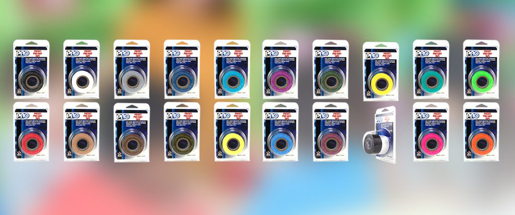Pro Pocket Gaff has all the properties of our popular Pro Gaff tape, including 20 colors to choose from