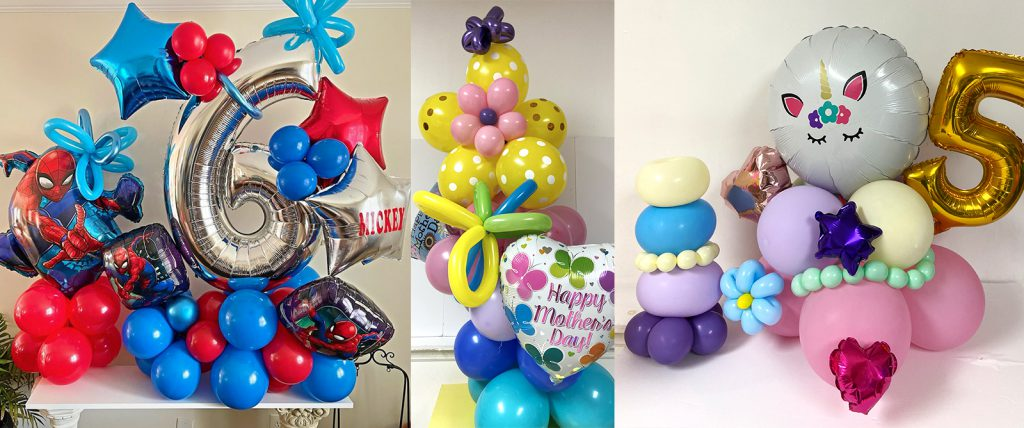 The happiness of her clients is what inspires Jeannette of Elcos Balloons to be innovative with her balloon arrangements