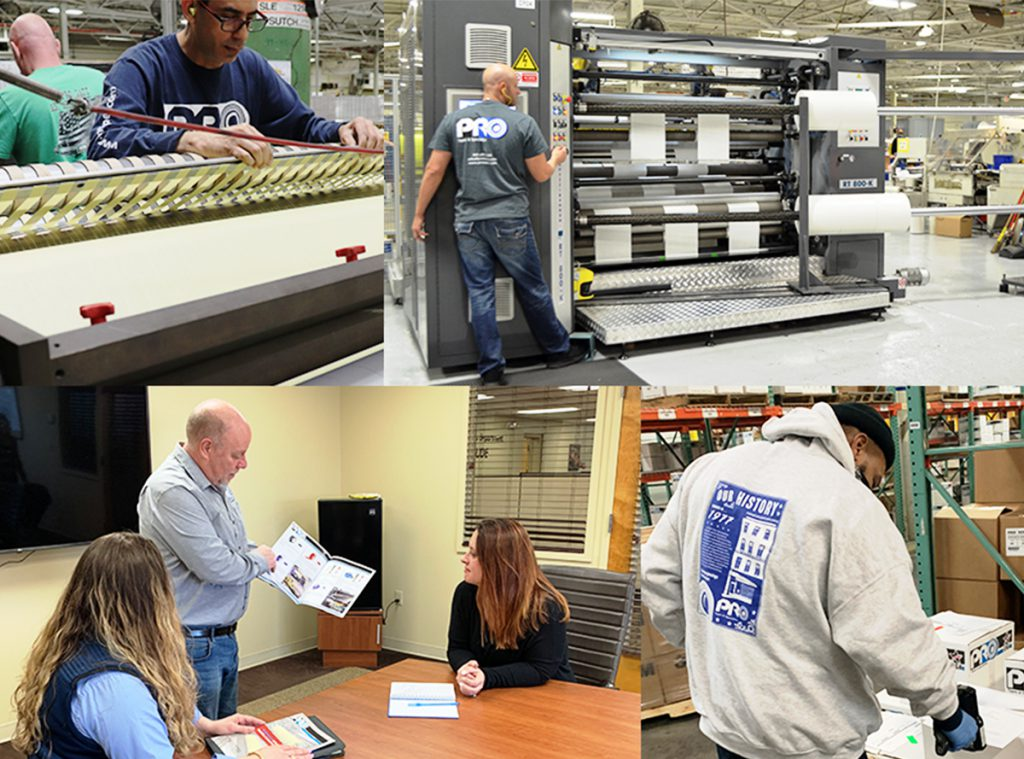 Pro Tapes® is a great place to work because they invest in their employees.