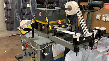 Adhesive Tape Converting - Flatbed Die Cutting