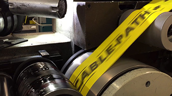 Adhesive Tape Converting - Flexo Printing on Adhesive Tapes